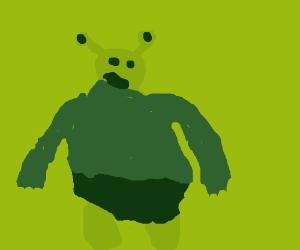 Minimalist Shrek