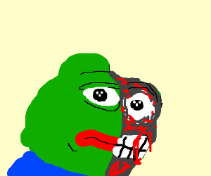 Two-face pepe