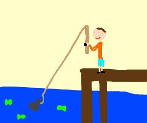 Bad fish catch