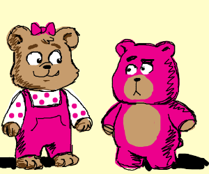 Lotso bear joins the Berenstain bears