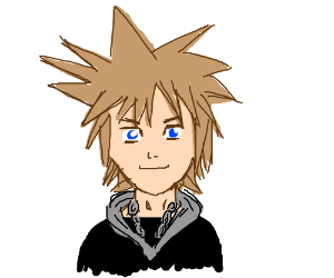 SORA! (From Kingdom Hearts).
