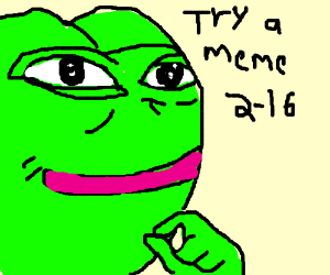Pepe is the Meme Party presidential candidate