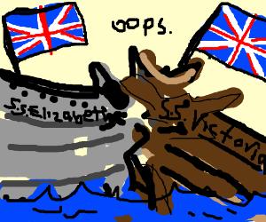 British collision