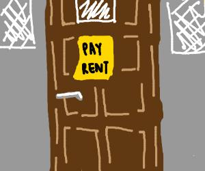 Rent due is empty
