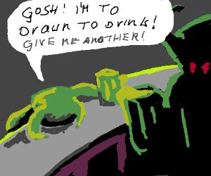 Drawings visit the bar