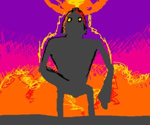 The Iron Giant becomes a Superhero