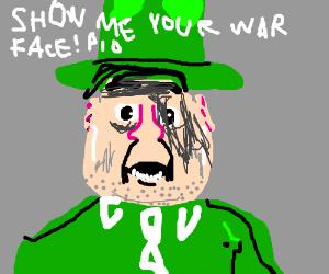 Show me your war face! P.I.O