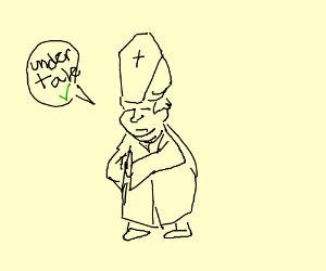 """The pope promotes the """"Undertale"""""""