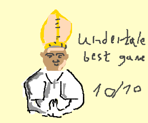 Pope advocates for Undertale