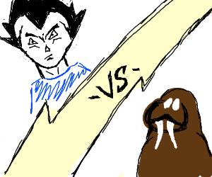 Vegeta vs. walrus.