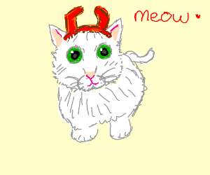 """Devil Kitty """"Meow"""""""