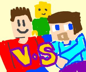 Roblox V Minecraft: Dawn of Blocks