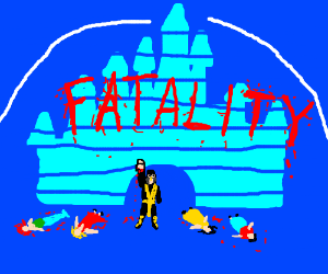 Ninja rises against Disney princess