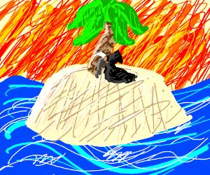 death takes a break on an island
