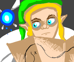 Link and Navi are lost