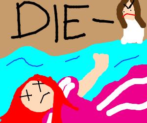 The Little Mermaid, Alternative Ending.