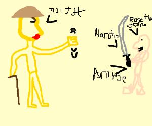 Old japanese man hates weeaboos
