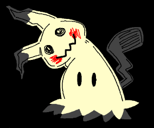 Mimicu Pikachu Clonesun And Moon Leak Drawing By Ams Drawception