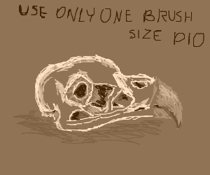 Use only one brush size [PIO]