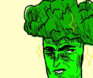 Brocoli man