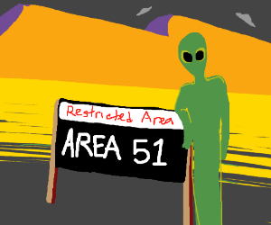 Weird things happen area 51