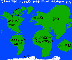 World map from memory pio draw the world map from your memory pio gumiabroncs Images