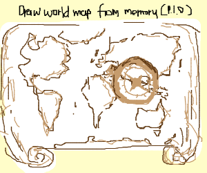 World map from memory pio gumiabroncs Images
