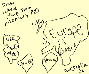 World map from memory pio draw world map from memory pio gumiabroncs Images