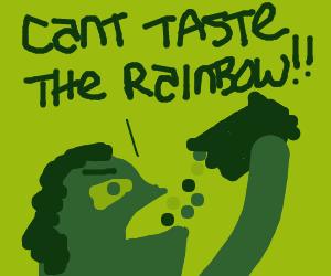 Rainbow Candy Man quits Drawception