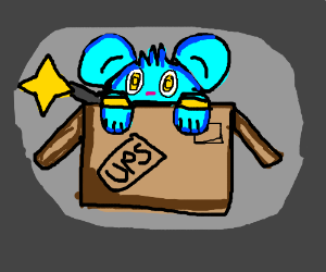 It's my Shinx in a box!