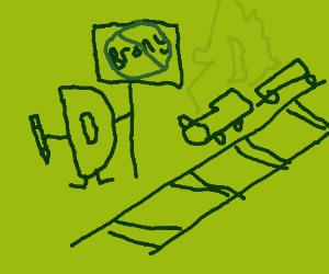 A typical Drawception anti-brony derail...