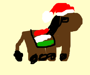 the italian christmas donkey - The Italian Christmas Donkey