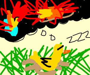 Cute duckling dreams of planetary annihilation