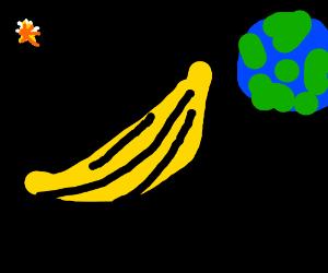 Banana smoking in the galaxy