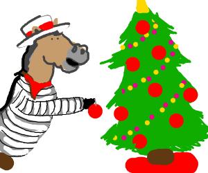 The Italian Christmas Donkey