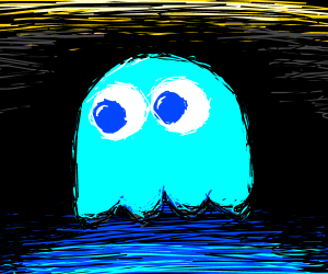 Inky ghost