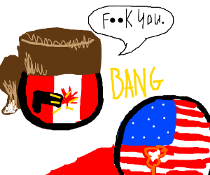 Canada expresses its love to America