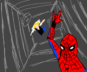 Spiderman killed Gwen Stacy