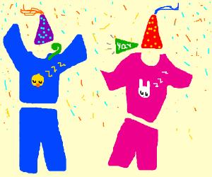 pajama party drawing by osckaboska drawception