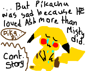 Misty flirted with Ash (continue story)