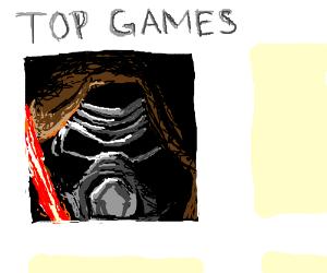 Kylo Ren gets top game again