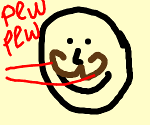 laser mustache