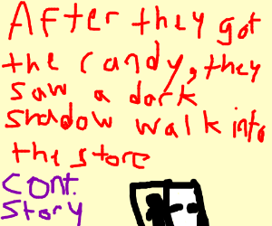 then transfered & ground for candy (cont story