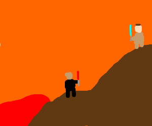 It's over Anakin! I have the high ground!