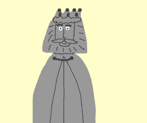 A gray King