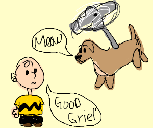 Dogcopter meets Charlie Brown