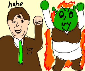 Trololololo watches Shrek explode