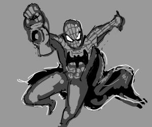 Super BatSpider Lantern Man