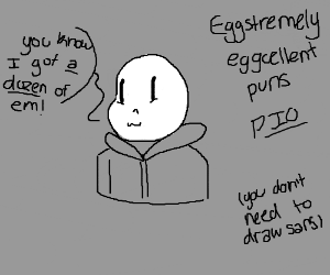 Eggstremely Eggcellent puns (PIO)