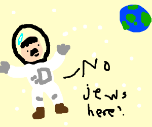 Hitler finds perfect civilization in space